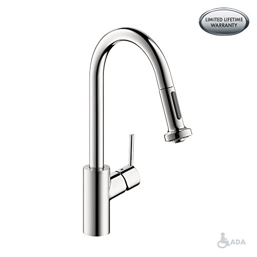 hansgrohe Talis S² Premium 1-Handle 15-inch Tall Kitchen Faucet with Pull Down Sprayer with...