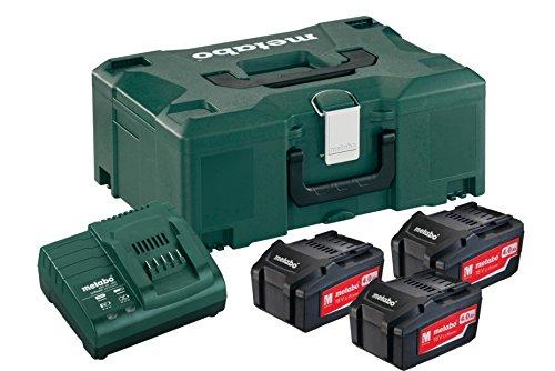 Metabo Combo 3x 4,0 Ah 18 V / 4,0 - combo de baterías y cargador