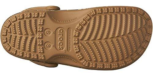 Crocs mens Classic Realtree | Camo for Men and Women Clog, Khaki, 12 Women 10 Men US