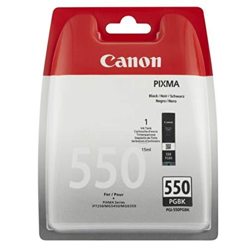 Canon original - Canon Pixma MX 920 Series (PGI-550 PGBK / 6496 B 004) - Tintenpatrone schwarz - 300 Seiten - 15ml