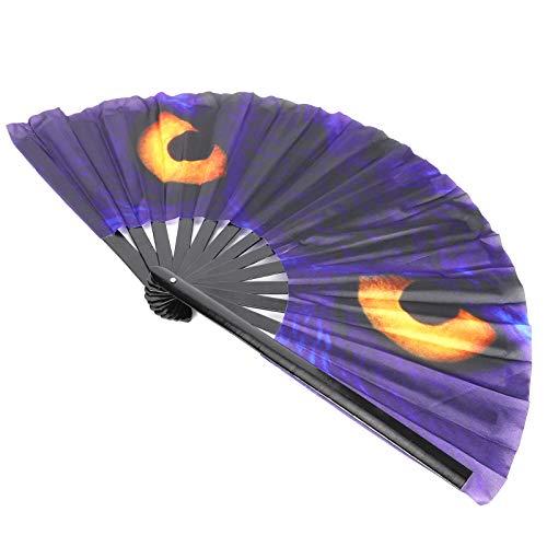 Ventilador con bolsa de abanico que se pliega y abre fácilmente, atrae la atención de las personas tan pronto como lo abres, abanico de estilo chino