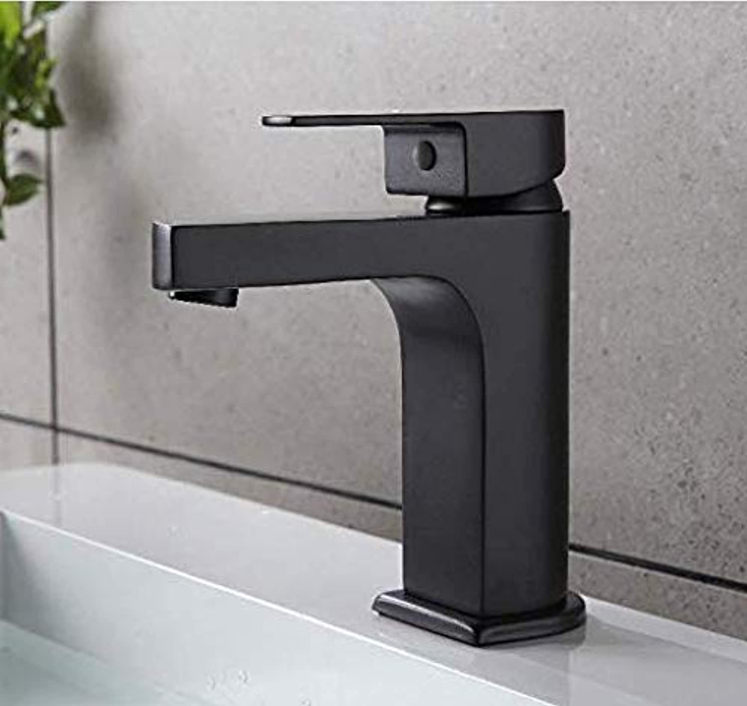 Retro Deluxe Faucetinging Faucet Chrome Black Bathroom Faucet Basin Sink Mixer Tap Brass Cold and Hot Water Basin Faucet