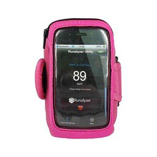 RunAlyzer ® [Rose, Talla S] - Small Sport Armband flexibles y ligeros...