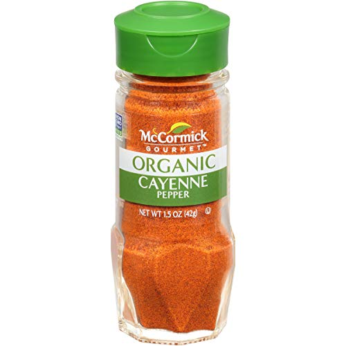 McCormick 100% Organic, Cayenne Red Pepper, 1.5-Ounce Unit (Packaging  May Vary)