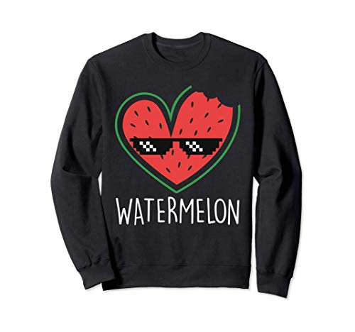 Wassermelone | Watermelon Sommer Wassermelonen Sweatshirt