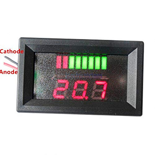 Great Price! WS16 DC 12V Acid Lead Batteries Indicator Battery Capacity Red LED Display Tester with ...