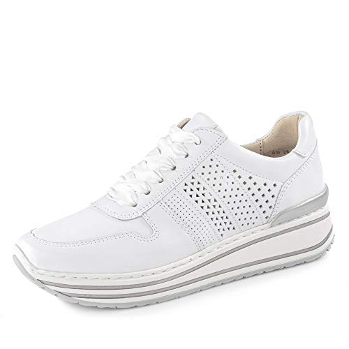 ara Damen SAPPORO Sneaker, (Weiss 07), 39 EU(6 UK)