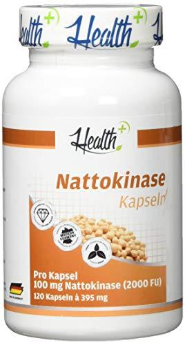 Zec+ Nutrition Nattokinase Kapseln | Blutverdünnend | Gerinnungshemmend | Blutdrucksenkend | 120 Kapseln