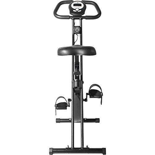 Gorilla Sports Le Vélo d'appartement X-Frame Pliable