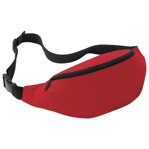 Bagbase Verstellbare Gürteltasche (2,5 Liter) Gr. Einheitsgröße, Klassisches Rot