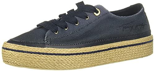 Tommy Hilfiger Gradient Sunset Vulc Sneaker, Scarpe da Ginnastica Donna, Cielo del Deserto, 37 EU