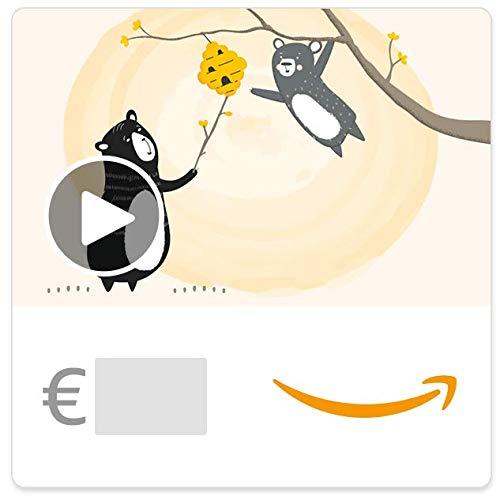 Cheques Regalo de Amazon.es - E-mail - Abejas y osos (animación)