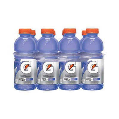 Gatorade 20809 Sports Drink, Riptide Rush Light Grape, 20-oz, 8-Pk. - Quantity 3