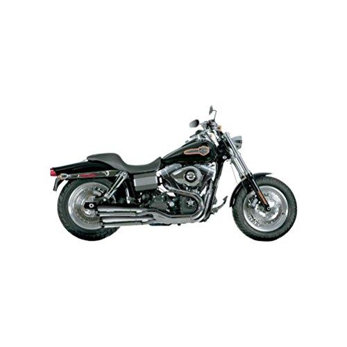 Akrapovic doble Slip-On silenciadores cromo para Harley-Davidson Fxdf 2010–2013