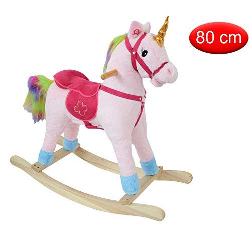 Mazzeo Giocattoli Cavallo a Dondolo Unicorno