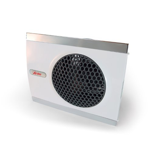 Stufetta elettrica Ardes 440 da 2000W rettangolare con due angolazioni d appoggio verticale ed orizzontale Stufetta Termoventilatore assiale con funzione ventilazione estiva DESIGN ITALIANO