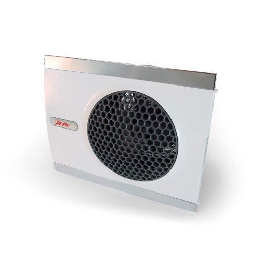 Stufetta elettrica Ardes 440 da 2000W rettangolare con due angolazioni d'appoggio verticale ed orizzontale Stufetta Termoventilatore assiale con funzione ventilazione estiva DESIGN ITALIANO