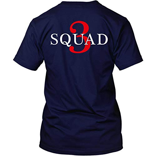 Chicago Fire Dept. - Squad 3 T-Shirt (L, Navy)