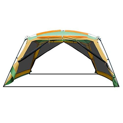 XIUYU Tienda de campaña, al Aire Libre for Acampar pérgola 8-10 Personas Barbacoa toldo de Playa Plegable Carpa de Lluvia Gran Espacio portátil