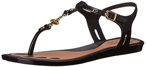 Vivienne Westwood + Melissa Women Solar Ankle Strap Sandals, Black (Black Orb), 6 UK 39 EU