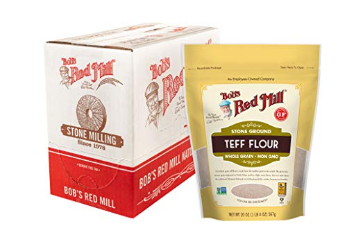 Bob's Red Mill Teff Flour, 20 Ounce (Pack of 4)