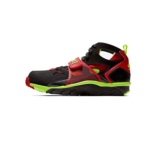 Nike Herren Air Trainer Huarache Trainingsschuhe, Schwarz (Schwarz/University Red/Volt), 41 EU