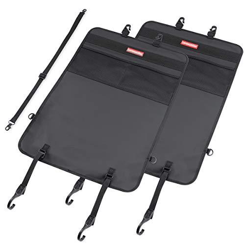 HerzensKind Rückenlehnenschutz und Organizer, wasserdicht und pflegeleicht. Autositzschoner für die Rückenlehne (2 Stück)