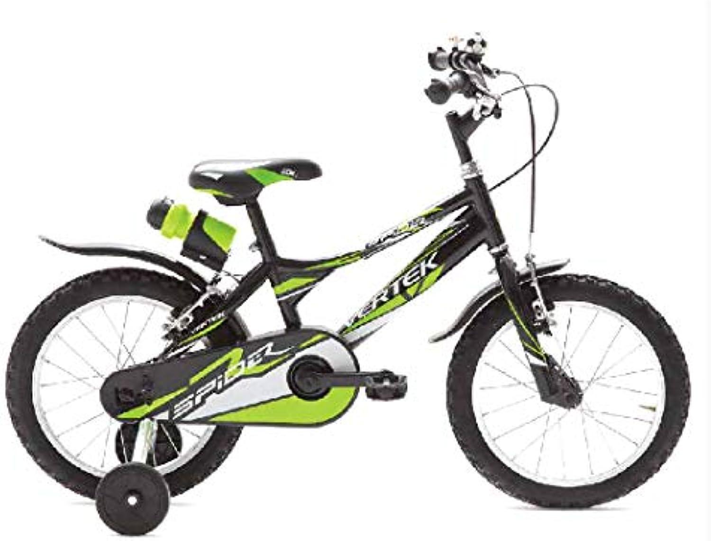 primera vez respuesta BRERA verdeEK Bicicleta Niño Niño Spider Ruedas 14verde 14verde 14verde Negro 1velocidades  muy popular