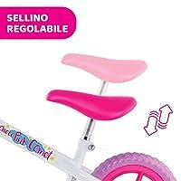Chicco Pink Comet Bicicletta Bambini Senza Pedali 2-5 Anni, Bici Senza Pedali Balance Bike per l'Equilibrio, con Manubrio e Sellino Regolabili, Max 25 Kg, Rosa, Giochi Bambini 2-5 Anni #4