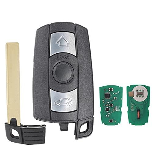 Chiave intelligente remota adatto per BMW CAS3 System 1/3/5/7 Series X5 X6 Z4 433MHz Chip PCF7941 opzionale