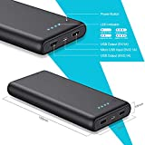 Zoom IMG-2 iposible power bank 24800mah caricabatterie
