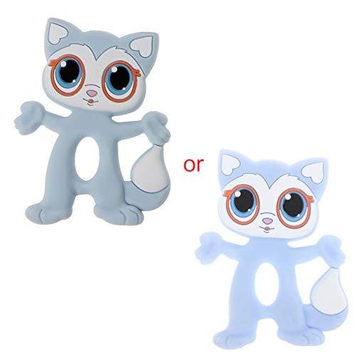 JIACUO Baby Teethers Big Eyes Cat BPA Accessori per...