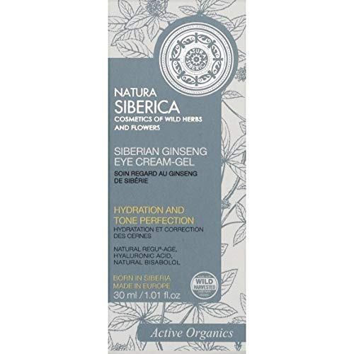 Natura Siberica - Soin Regard Au Ginseng De Sibérie - 30Ml - Lot De 2 - Livraison Rapide En France - Prix Par Lot