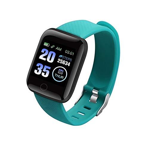 Bghty654 Fitness Trackers Fitness Trackers Smart Armband Smart Armband met Vervangende Bandjes Smart Band Hartslagactiviteit Tracker Fitness Smart Horloge Stappenteller Horloge Smartwatch, Groen