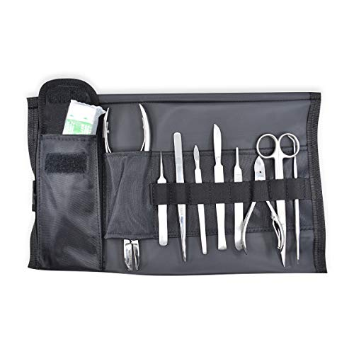 DR Instruments 10FK Ultimate Coral Fragging Kit for Reef Hobyists - Stainless Steel Tools