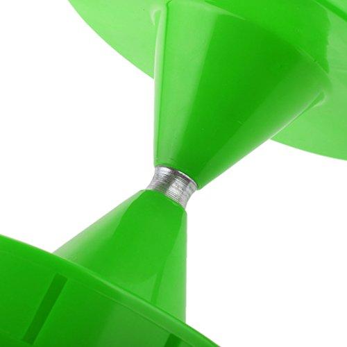 Grande Diabolo Jonglage Sifflet Spinning Chinois Yo Yo Enfant Cadeau Jouet Educatif - Vert