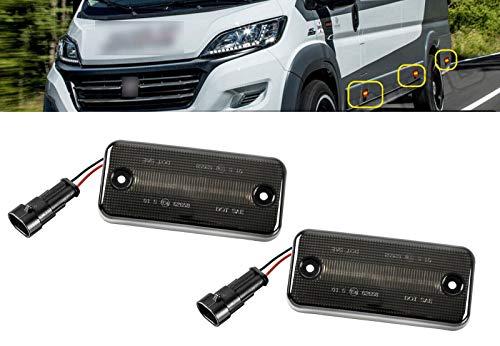 AUTOLIGHT 24 I 2 X LED Seitenmarkierungsleuchte Begrenzungsleuchte Blinker mit E4-Prüfzeichen