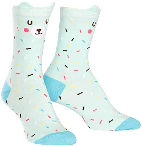 Sock It To Me Frauen-Crew Socken - Bearly Sprinkled