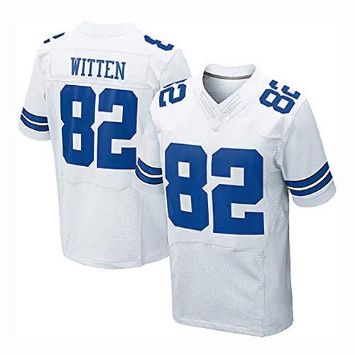 Camiseta de Rugby, Vaqueros de Dallas NFL, 82, 35, repaso, Segunda edición legendaria Elite de Witten, Camiseta Bordada, M - XXXL.