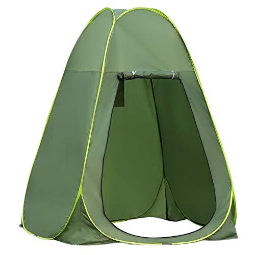 Perfeclan Tienda de Ducha Up Camping, Vestuario portátil Tiendas de Refugio de privacidad para el baño de la Playa al Aire Libre y sesión de Fotos de - 1,5 Metros Verde