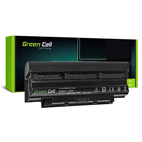 Green Cell Battery for Dell Vostro 1445 1450 1540 1550 2420 2520 3450 3550 3555 3650 3750 P13E P13E001 P13S P13S001 P16F P16F001 P16F002 P18F P18F001 Laptop (6600mAh 11.1V Black)