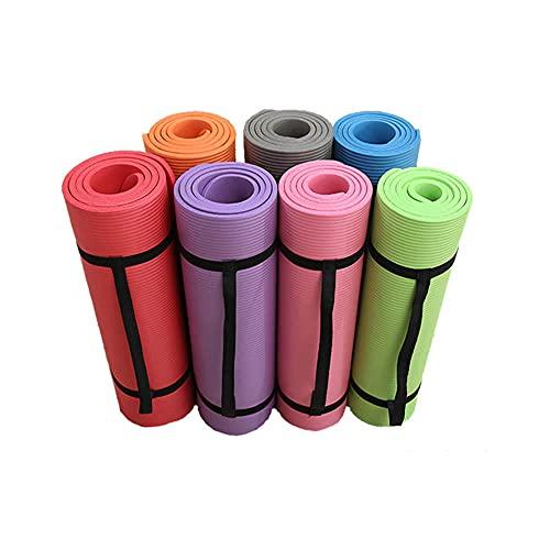 Colchoneta de gimnasia,Estera de fitness de color sólido con protección plegable equilibrada 183 * 61 * 1 manta de yoga de ensanchamiento y engrosamiento-blue_122 * 61 * 61cm,entrenamiento deportivo