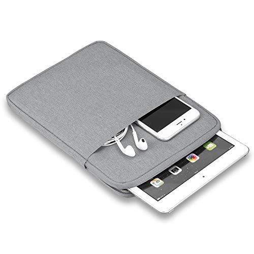 GHC Pad Fundas & Covers para iPad 10.2 2019 2020 Air 3 10.5, Bolsa de Manga de la Funda de la Tableta de la Tableta Protectora a Prueba de Golpes para iPad Pro 11 Caso 2018 (Color : Light Gray)