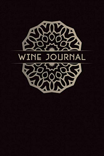 Wine Journal: A Guided 6x9 Tasting Notebook for Wine Ratings & Impressions (with Flavor Wheel)
