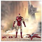 QKKJ Modelo De Acción De Iron Man, Las Articulaciones Pueden Moverse, Muebles De Decoración...