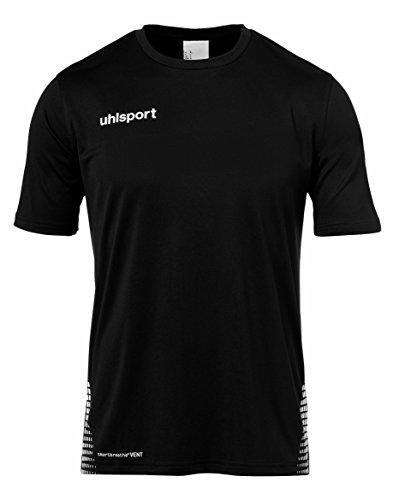 uhlsport Score Training Maglietta, Unisex, Score Training, Schwarz/Weiß, M