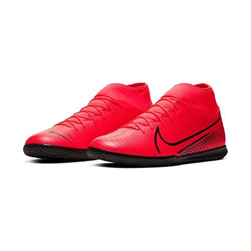 Nike Fußballschuhe Herrenschuhe Hallenschuhe Mercurial Superfly 7 Rot AT7979, Farbe Nike:Rot, Größe Schuhe Erwachsene:47,5
