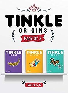 Tinkle Origins Vol.4, 5, 6 (Pack of 3)