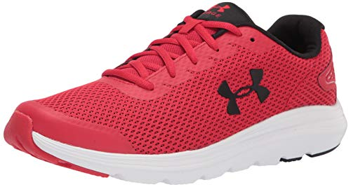 Under Armour mens Surge 2 Running Shoe, Red (601 White, 9.5 US
