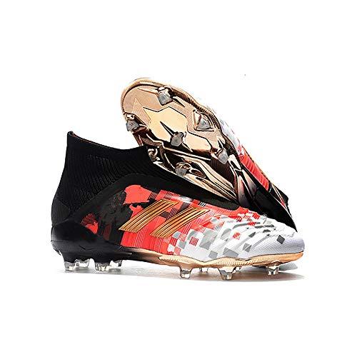 Zapatos de fútbol halcón de Alta Parte FG Zapatos de Entrenamiento de Hierba Natural